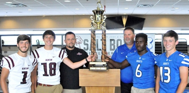 Bryant, Benton coaches, players meet the press to talk Salt Bowl