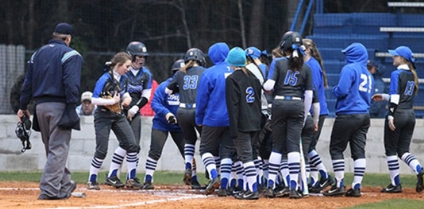 Hulett fires abbreviated no-hitter as Lady Hornets swamp Northside