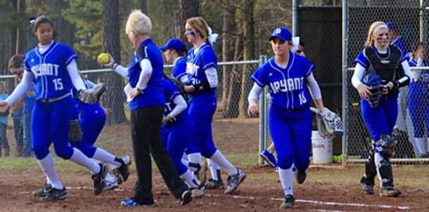 Lady Hornets finally get to play, notch first win