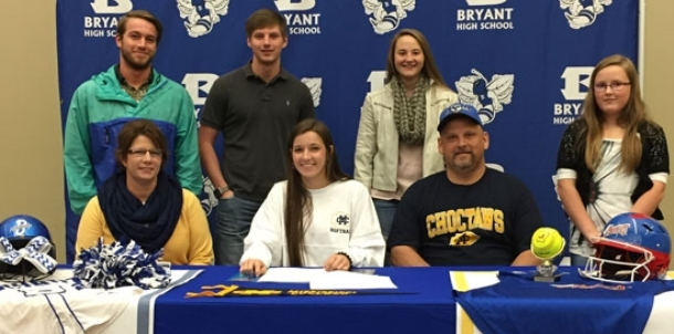 Bryant's McKissock signs with Mississippi College
