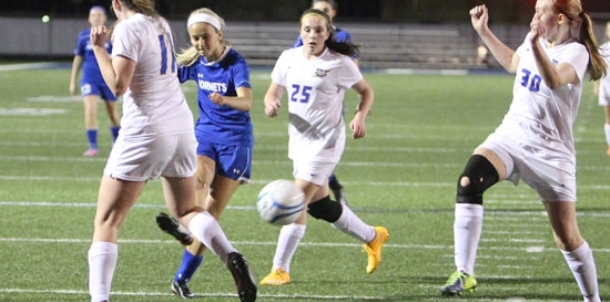 Lady Hornets shut out Lady Charging Wildcats