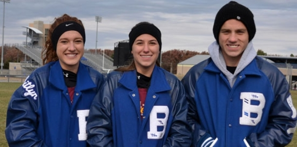 Terry, Shelby, Bell represent BHS at All-Star meet