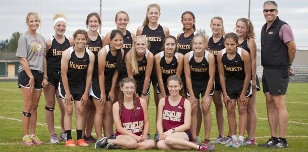 Hornet Girls Cross Country 2016