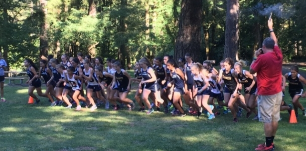 Hornet Cross Country back at Deep Lake in 2016