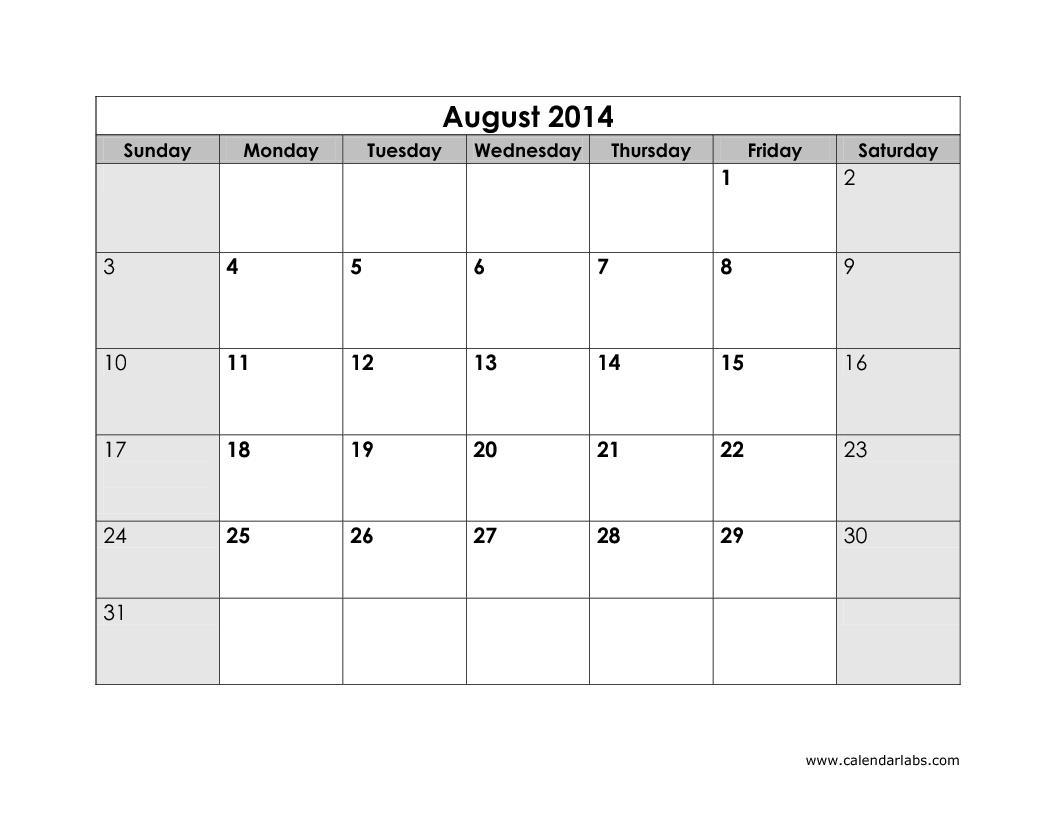 Calendar Printouts | New Calendar Template Site