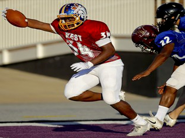 Lakeside RB Swanson scores 2 TD in West All-Star victory