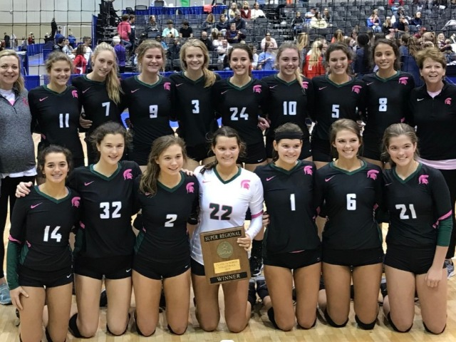 #1 Ranked Spartan Volleyball Claims Regional Champions-Heading to State