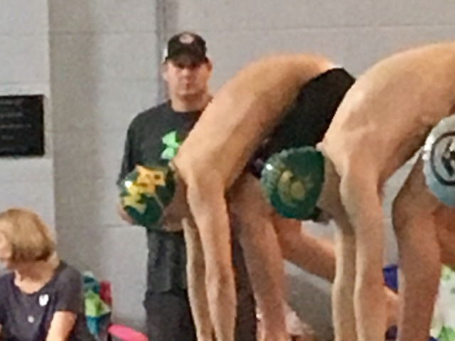 Swim Teams Takes Top Finish in Last Chance Meet