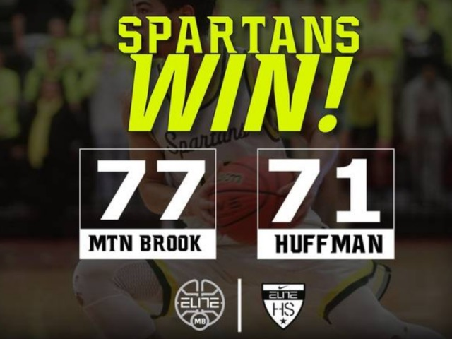 Spartans Make Final Four With Win Over Huffman