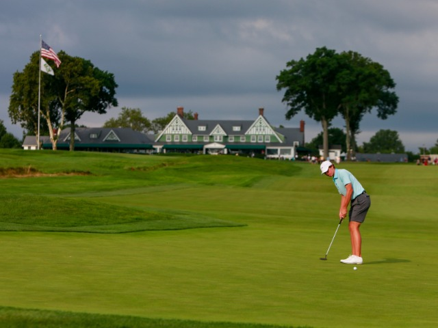 USA TODAY Sports Male Golfer of the Year Gordon Sargent at U.S. Amateur