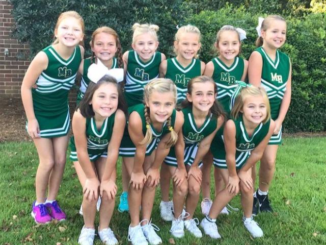 CBE 4th-graders cheering through MBAA