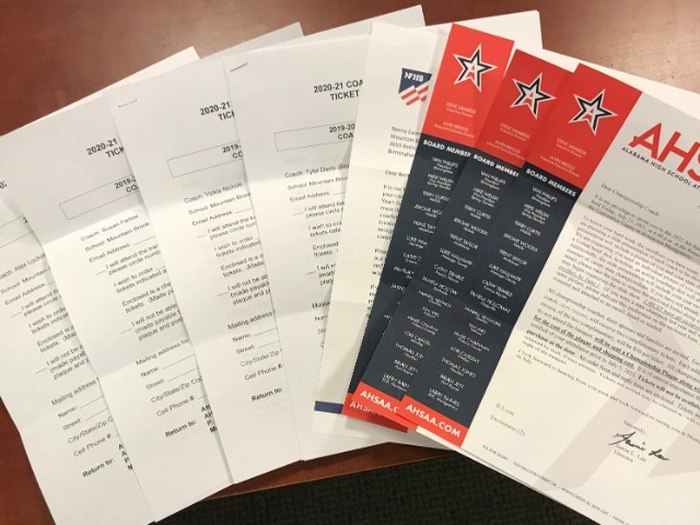Coaching Honors from the AHSAA and NFHS
