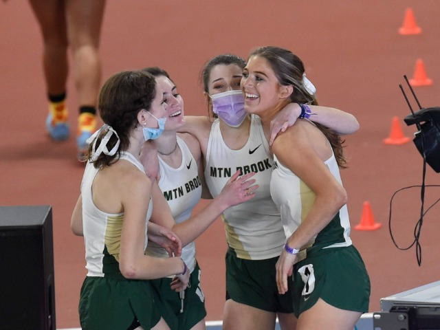 MB Girls Claim Runners Up at State Indoor Track