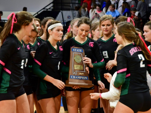 Volleyball ends season a historic season - post season honors follow