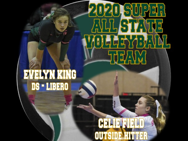 Two MB Seniors Receive Super All-State Volleyball Team