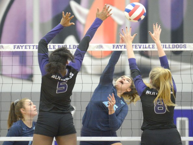 Fayetteville pulls off sweep of Har-Ber