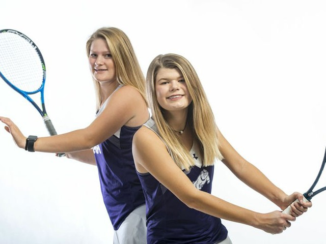 ALL-NWADG GIRLS DOUBLES TENNIS