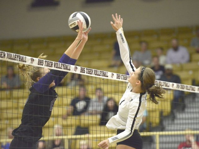 Bentonville rallies past Fayetteville in five sets