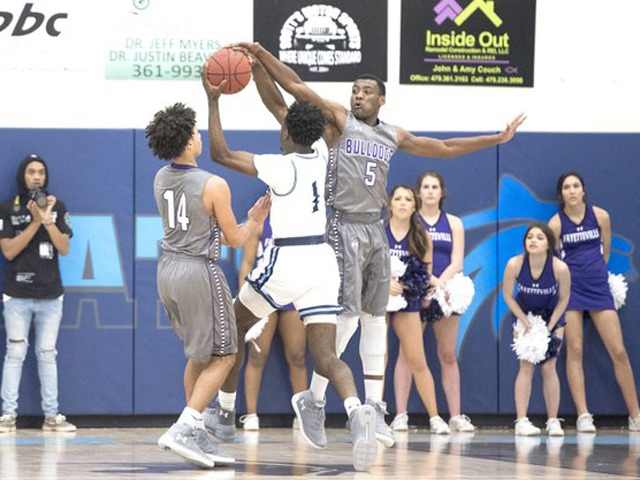 Fayetteville's boys assume top spot in 7A-West