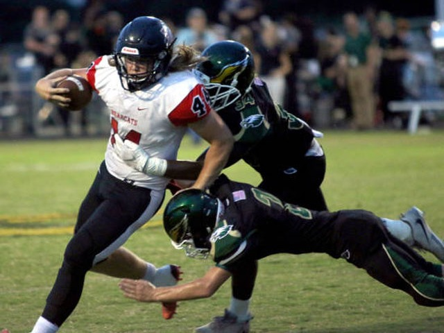 Jackson, NMCC football running attack too much for Bearcats