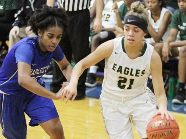 Hartman, Ruff lead NMCC girls basketball past Charleston, advance to district title game