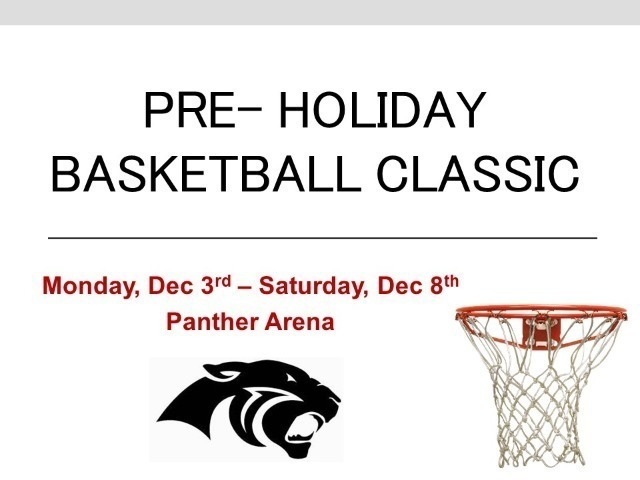 Pre-Holiday Basketball Classic: Dec 3-8
