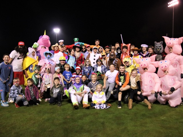 Cabot High School holds fourth annual Halloween baseball game