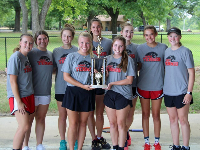 Girls Tennis Tournament Champions - Searcy Tournament