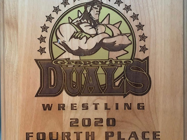 Wrestling Places 4th in Grapevine Dual Tournament