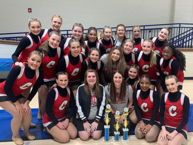 CHS Dance Receives Dance Awards at Competition