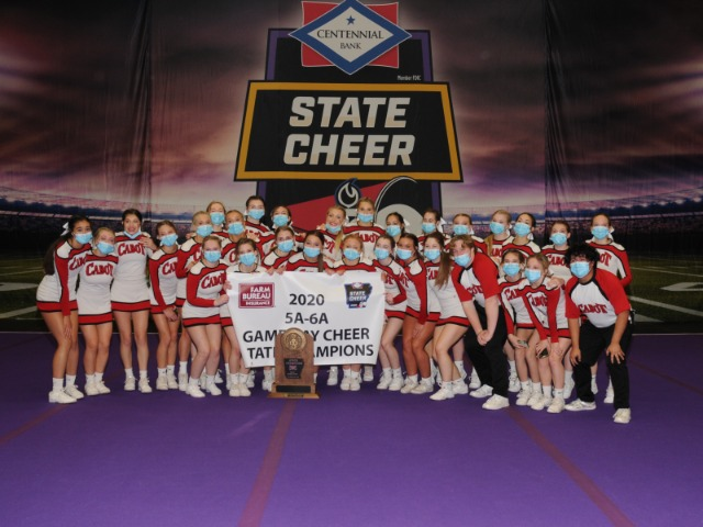 CHS Cheer 2020 5A-6A State Champions
