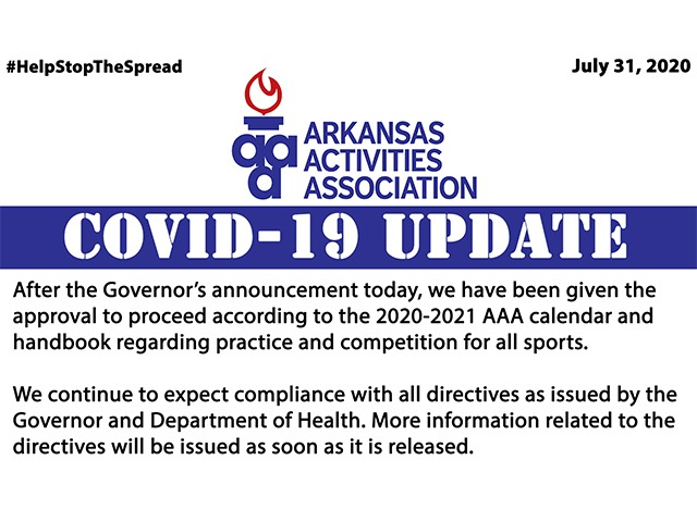 Covid-19 Update | Return to the AAA Calendar