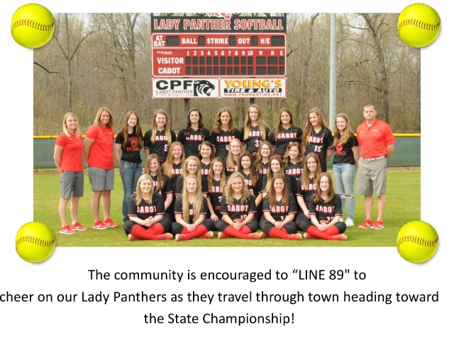 """Line 89"" CHS Softball To State - May 16"