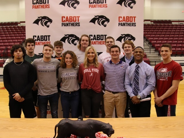 12 Student Athletes Sign on National Signing Day