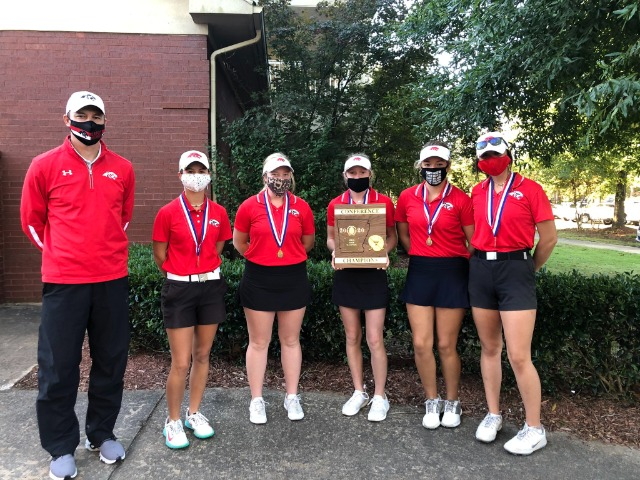 Panther Golf Closes 2020 Season: 6A Central Conference Champs and Runner-Ups