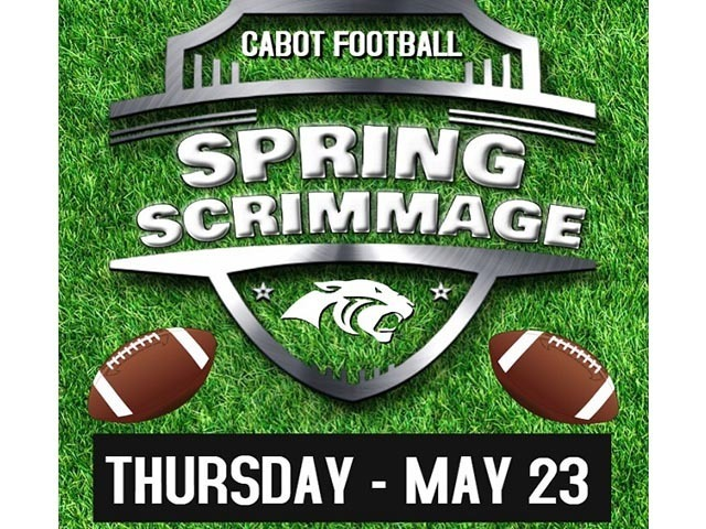 Panther Football 2019 Spring Scrimmage – May 23