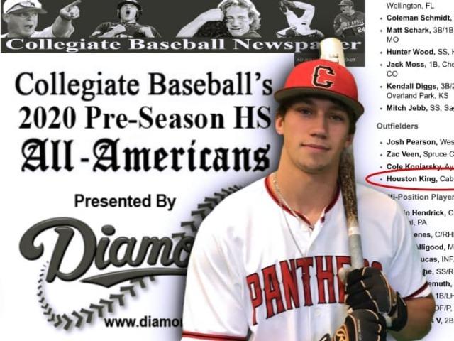 Houston King - Baseball 2020 Pre-Season All American