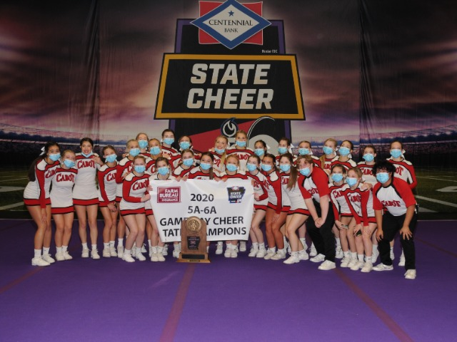 Image for Cabot cheer captures first state championship