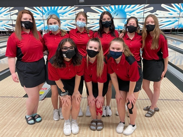 Image for Lady Panthers Bowling Team - 6A 2021 State Champions