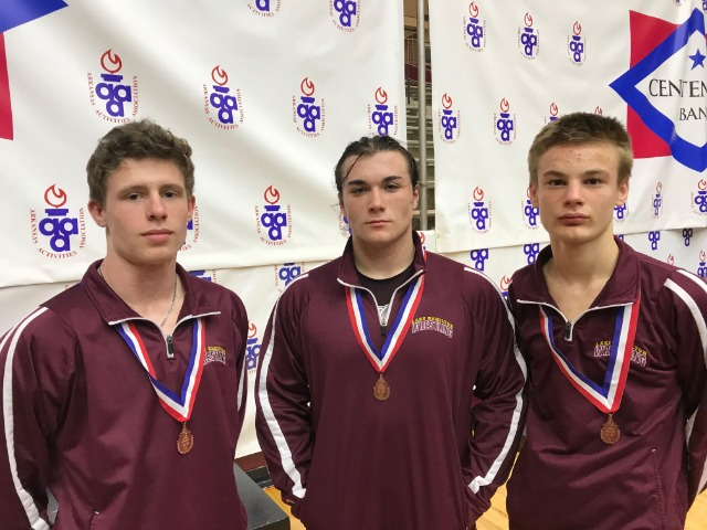 Wrestling team off to good start in second year