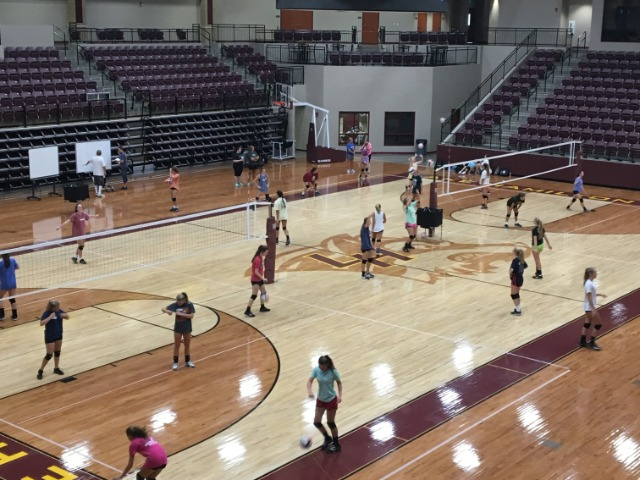 JH & HS Volleyball start preparing for upcoming season with new Gold Medal Squared program