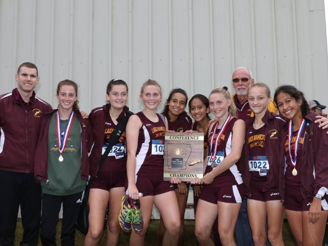 LH Girls take 5A South Conference Championship