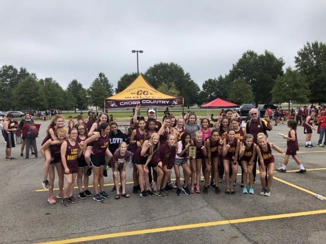 Lake Hamilton Cross Country Wolves @ Cyclone Invitational