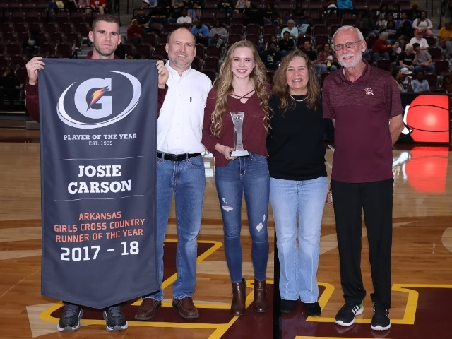Gatorade Player of the Year for Arkansas Girls Cross Country