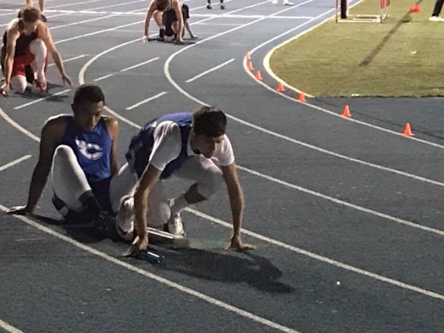 Action from the Ralph Bowyer track meet tonight at CHS!