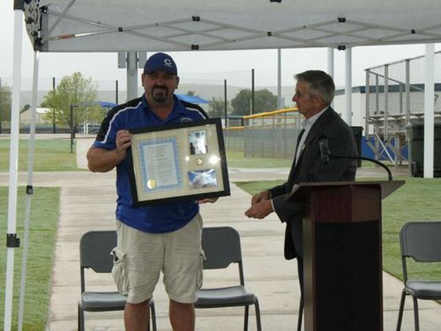 Sports fields dedicated to Andrews, Pomroy