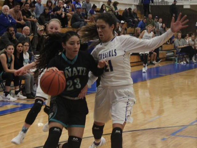 Cavegirls offense powers past Oñate, 66-29