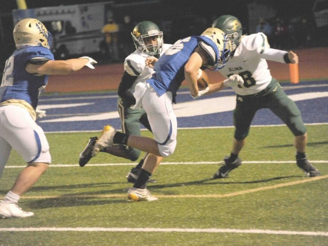 Goblins gain traction with homecoming win