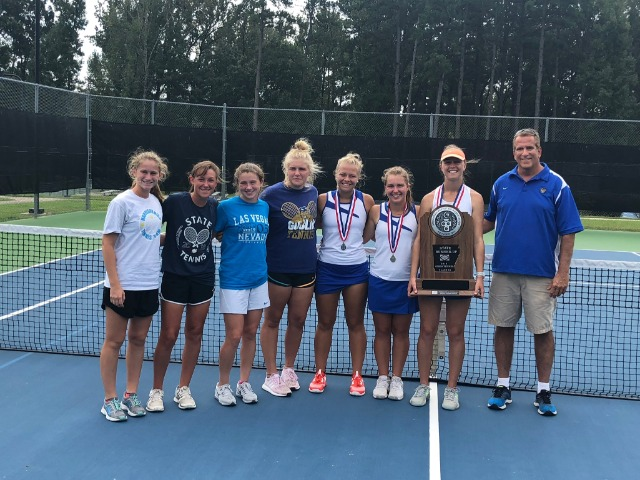 4A State Runner-up Finish for Lady Goblin Tennis