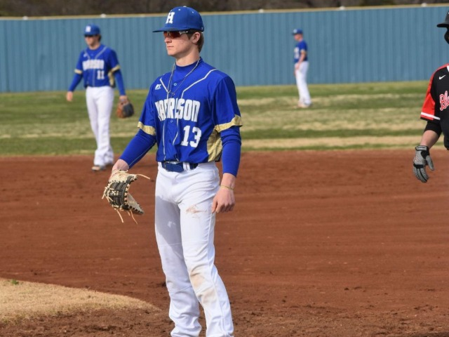 Harrison baseball vs. Prairie Grove